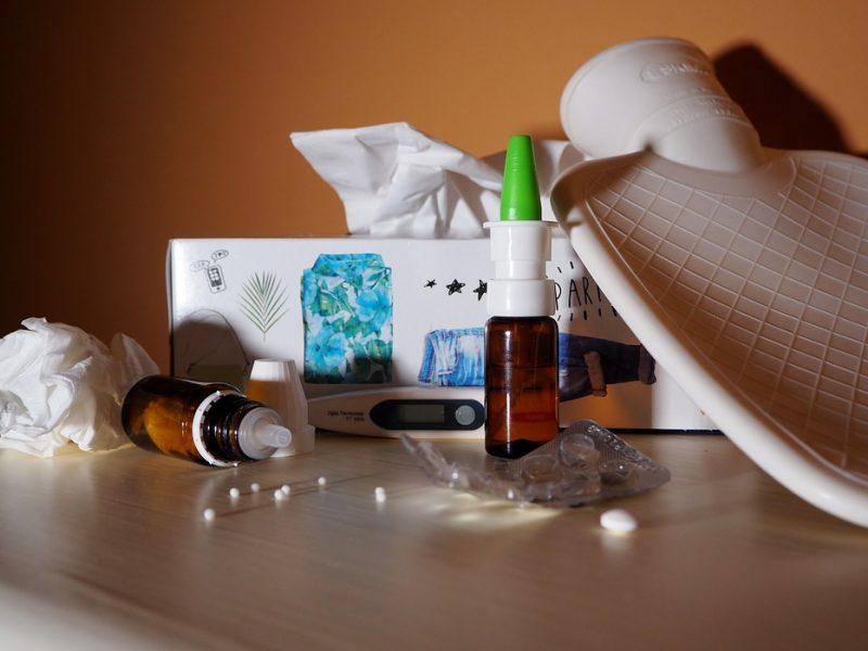 Klaipėdoje skelbiama gripo epidemijos pradžia