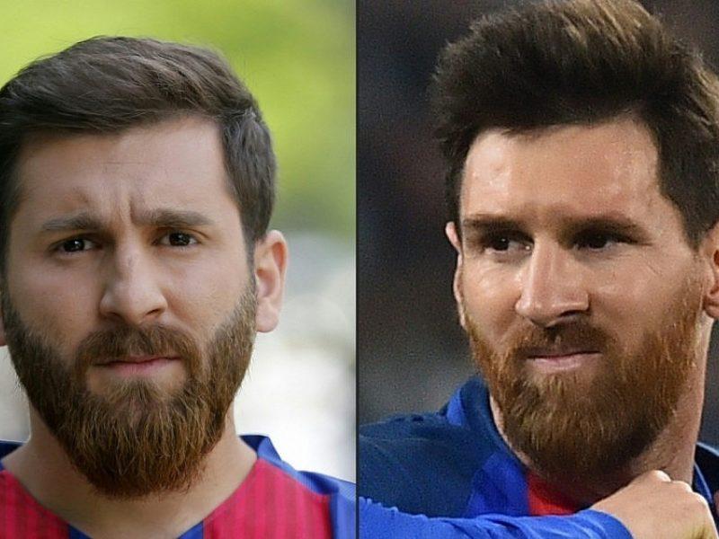 Maskvoje sulaikytas L. Messi antrininkas