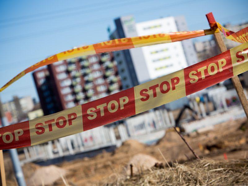 Nepranešusiems apie statybos darbų pradžią – iki 400 eurų bauda