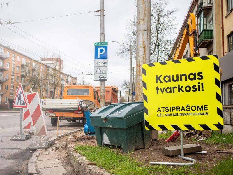 Tvarkymo darbai Kaune įgauna pagreitį: kas numatoma šią savaitę?