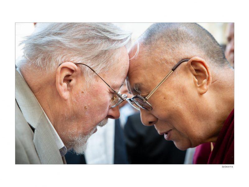 Seimo nariai ir V. Landsbergis susitiko su Dalai Lama