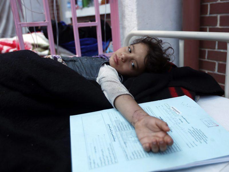 Irane chloro dujomis apsinuodijo šimtai žmonių