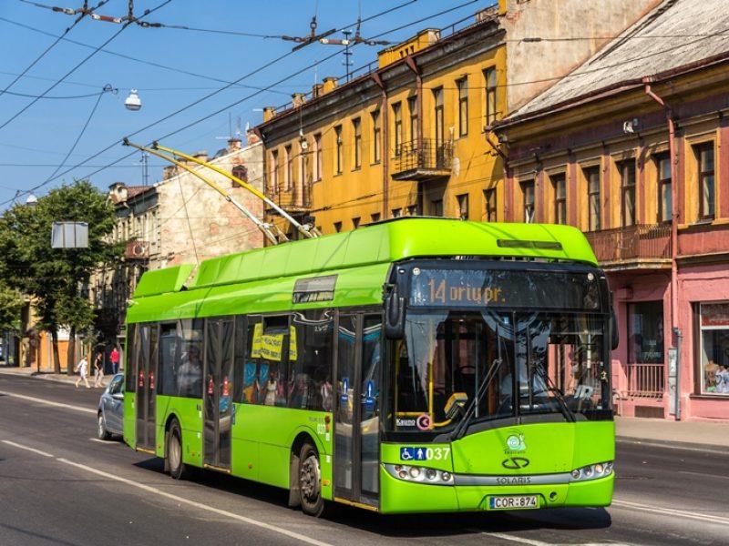 Popiežiaus vizito Kaune metu – nemokamas viešasis transportas