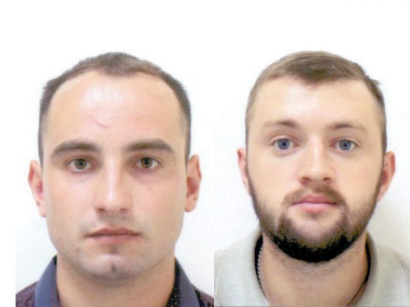 Policija prašo pagalbos: kas – šie asmenys?