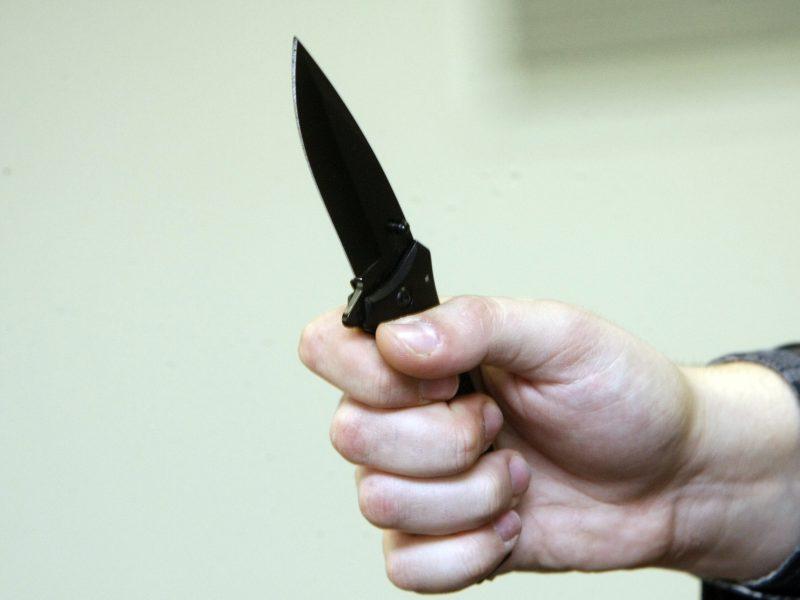 Akmenės rajone bus teisiamas sugyventinę peiliu sužalojęs ir ją bauginęs vyras