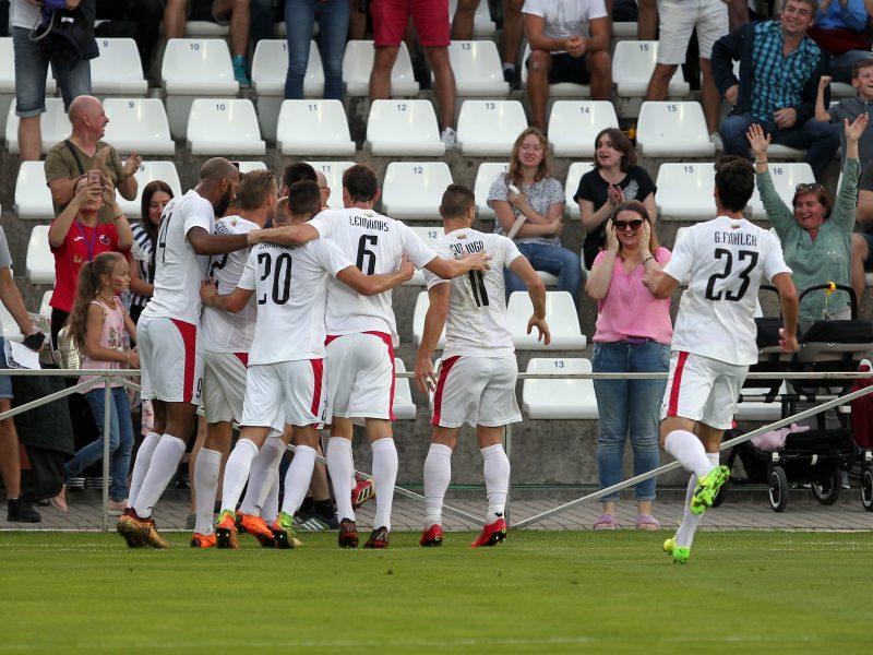 Po klubų sėkmės – ženklus A lygos progresas UEFA šalių reitinge