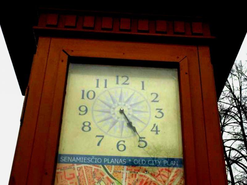 Laikrodžiai rodo vėjus