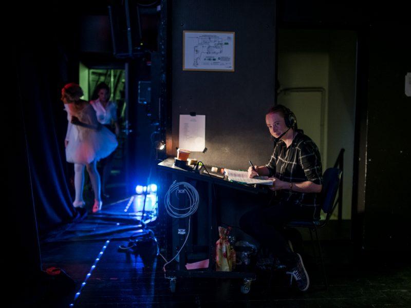 M. Palubinskaitė: teatre įklimpau iki kaklo ir iki gyvos galvos