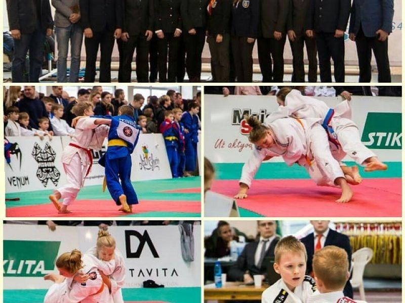 Pirmajame tarptautiniame Baltijos šalių dziudo turnyre – beveik 300 dalyvių