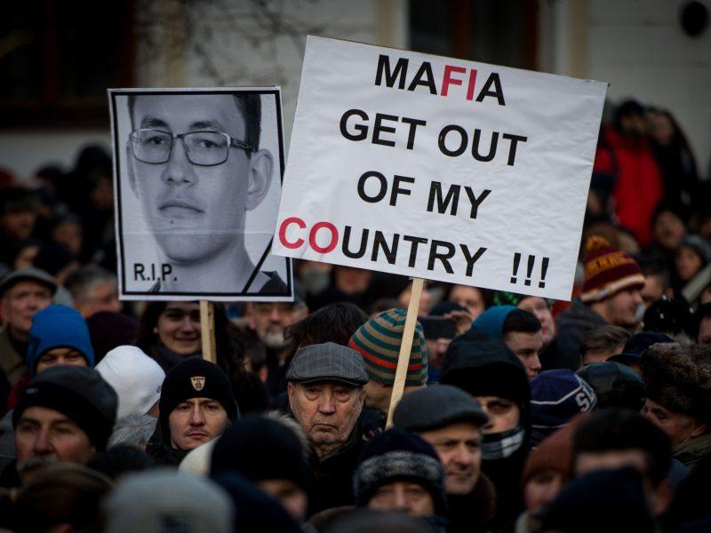 Slovakijos policija žurnalisto nužudymo byloje sulaikė italų verslininką