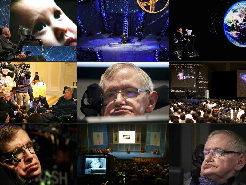 Įsimintinos kosmologijos grando S. Hawkingo frazės