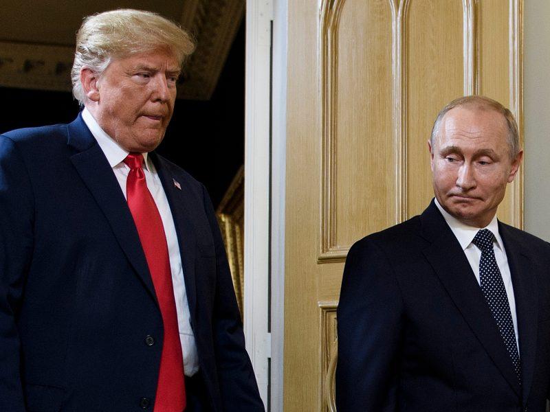 V. Putinas: susitikimas su D. Trumpu buvo sėkmingas