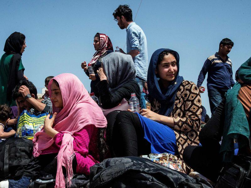 Vokietija kasmet įsileis ne daugiau 200 tūkst. pabėgėlių