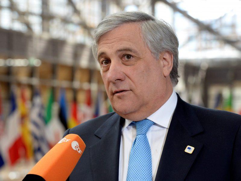 Europos Parlamento pirmininkas atmetė britų premjerės kaltinimus kišimusi