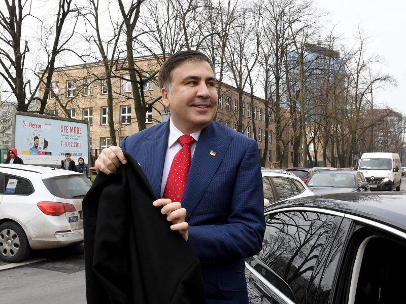 Ukrainos deportuotas M. Saakašvilis iš Lenkijos atvyko į Nyderlandus