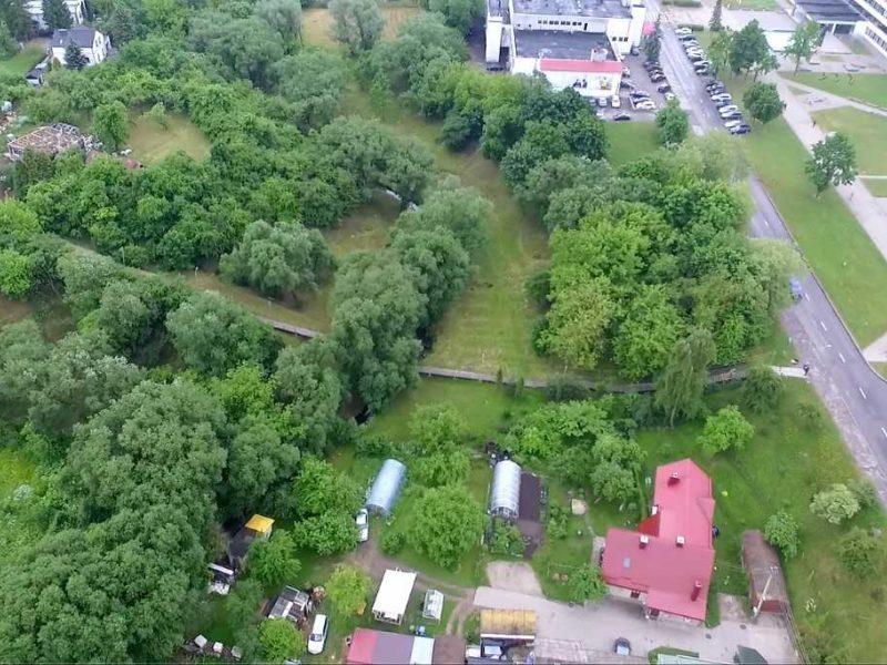 Kaunas uždegė žalią šviesą Gričiupio parko renesansui