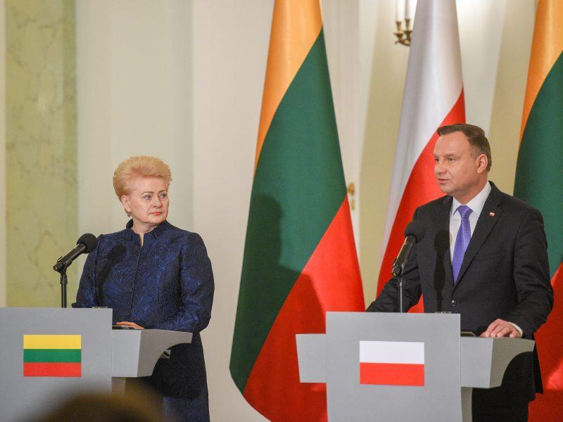 D. Grybauskaitės vizitas Lenkijoje