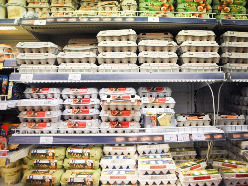 Dauguma pirkėjų renkasi kiaušinius, kurių prekybos tinklai linkę atsisakyti