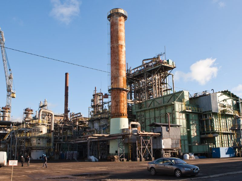 """""""Achema"""" mažina gamybos apimtis: stabdo vieną amoniako cechų"""
