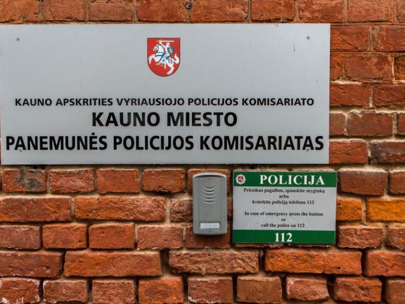 Incidentas Kauno policijoje: peiliu sužaloti du pareigūnai <span style=color:red;>(atnaujinta)</span>