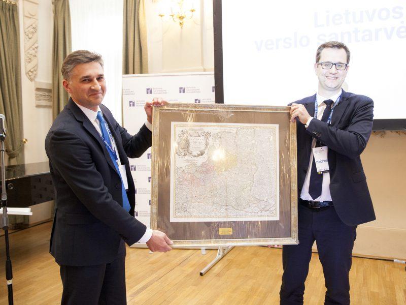 M. Bartuška apdovanotas už Lietuvos ir Lenkijos verslo santarvę