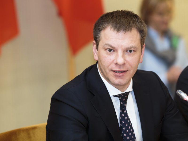 V. Šapoka: nepatvirtinus biudžeto, galima konstitucinė krizė