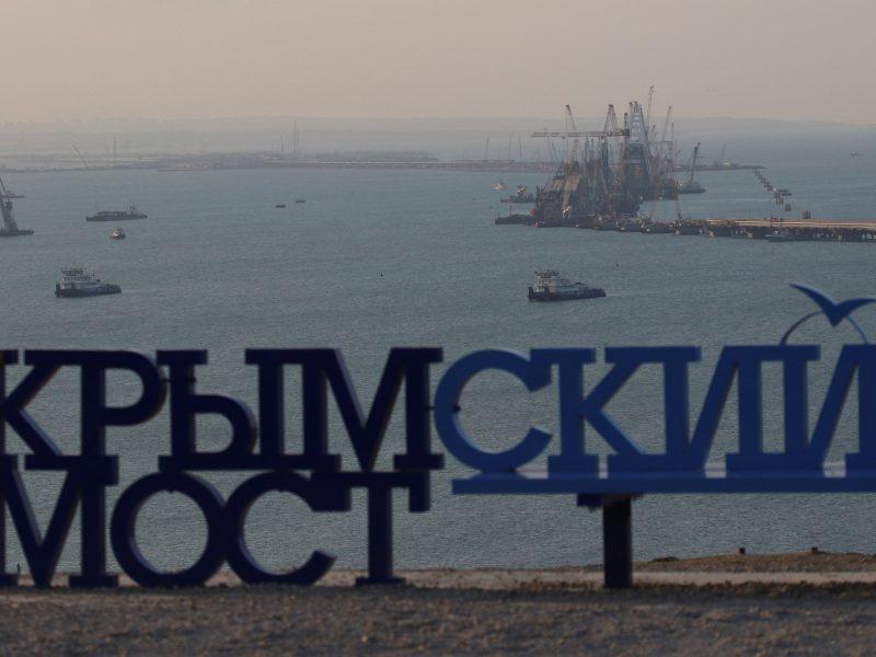 Pasikeitusi Ukrainos realybė – ties riba su Krymu
