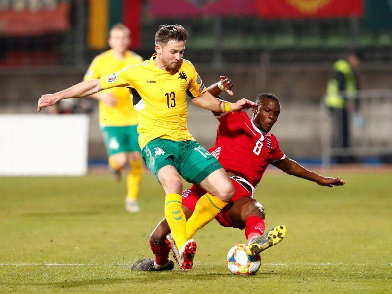 Futbolas: Liuksemburgas – Lietuva 2:1