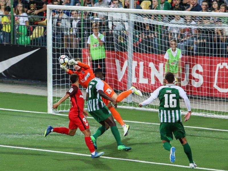 "Europos lygos atranka: ""Žalgiris"" - ""Sevilla"" 0:5"