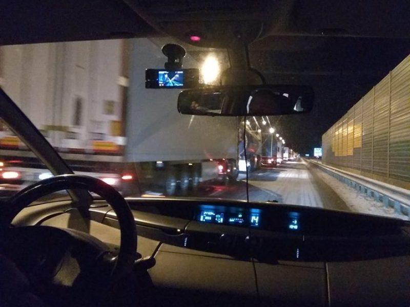 Vairuotojų dėmesiui: uždarytas eismas nuo Kauno link Marijampolės
