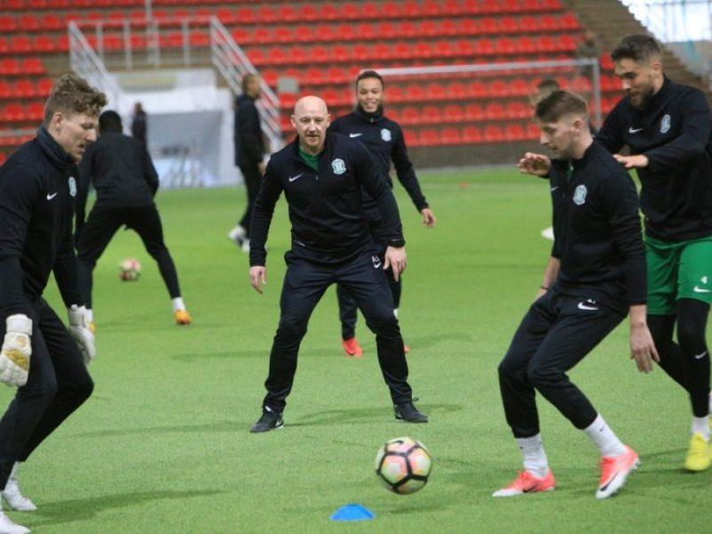 """Vilniaus """"Žalgirio"""" treneris A. Skarbalius: norime surinkti stiprią komandą"""