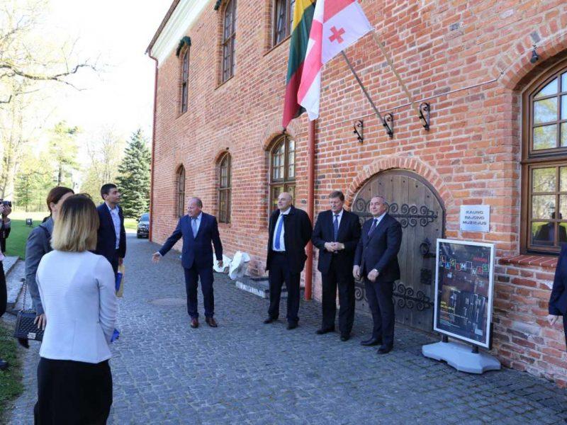 Kauno rajone viešėjo Gorio apskrities delegacija