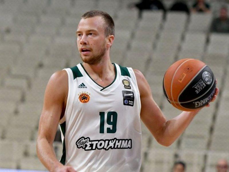 Krepšininko L. Lekavičiaus indėlis į Atėnų klubo pergalę - 12 taškų
