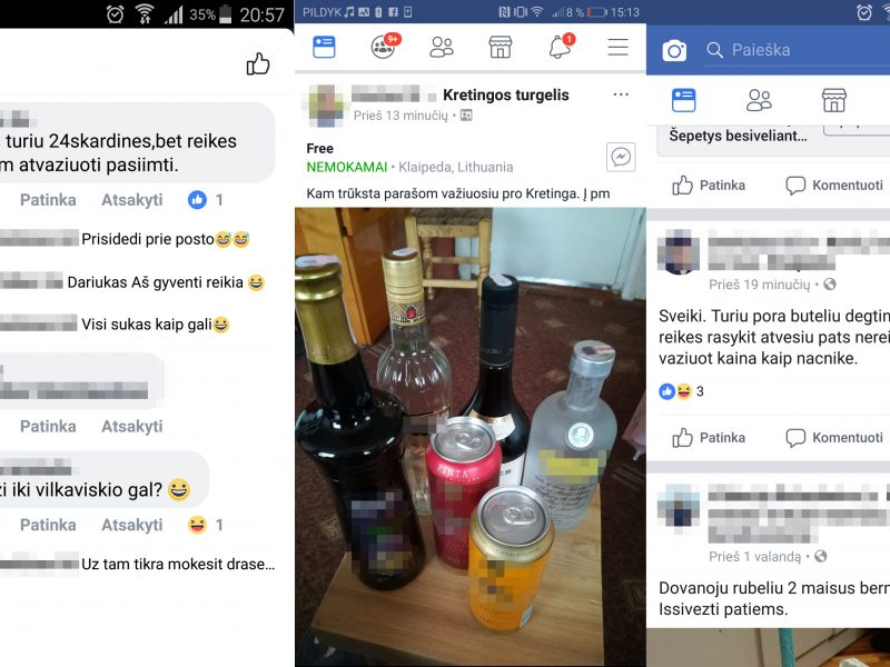 Pogrindyje – alkoholio upės
