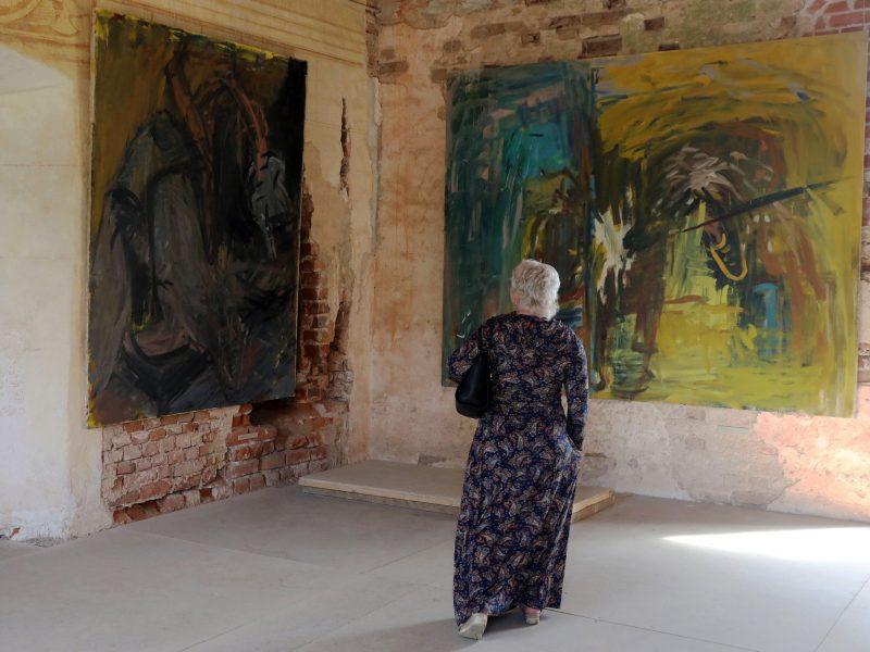J. Vaitiekūno paroda Panemunės pilyje