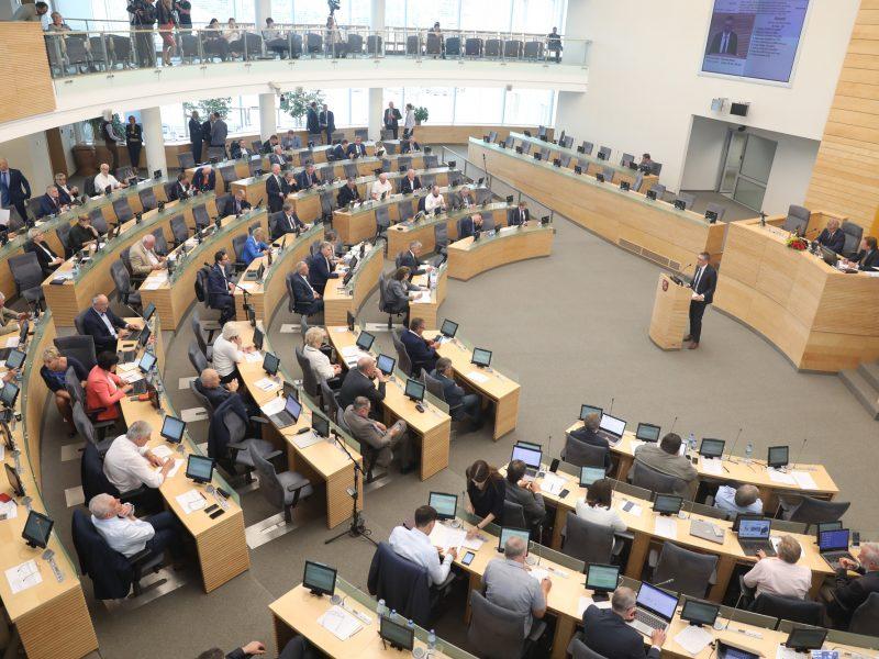 """Seimas patvirtino NSGK išvadas: """"Rosatom"""" ir """"MG Baltic"""" įvardytos grėsmėmis"""