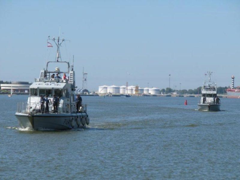 Klaipėdoje – Jungtinės Karalystės laivų vizitas