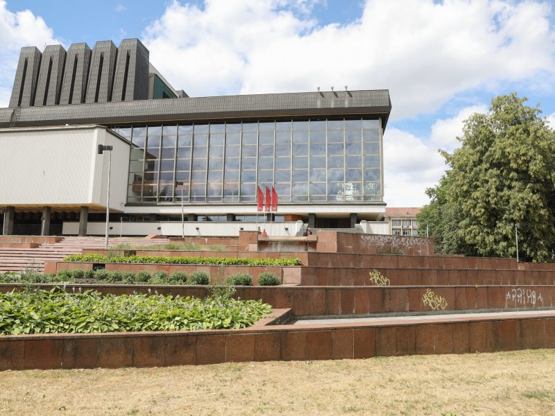Po gero dešimtmečio rekonstruojamas Operos teatro fontanas
