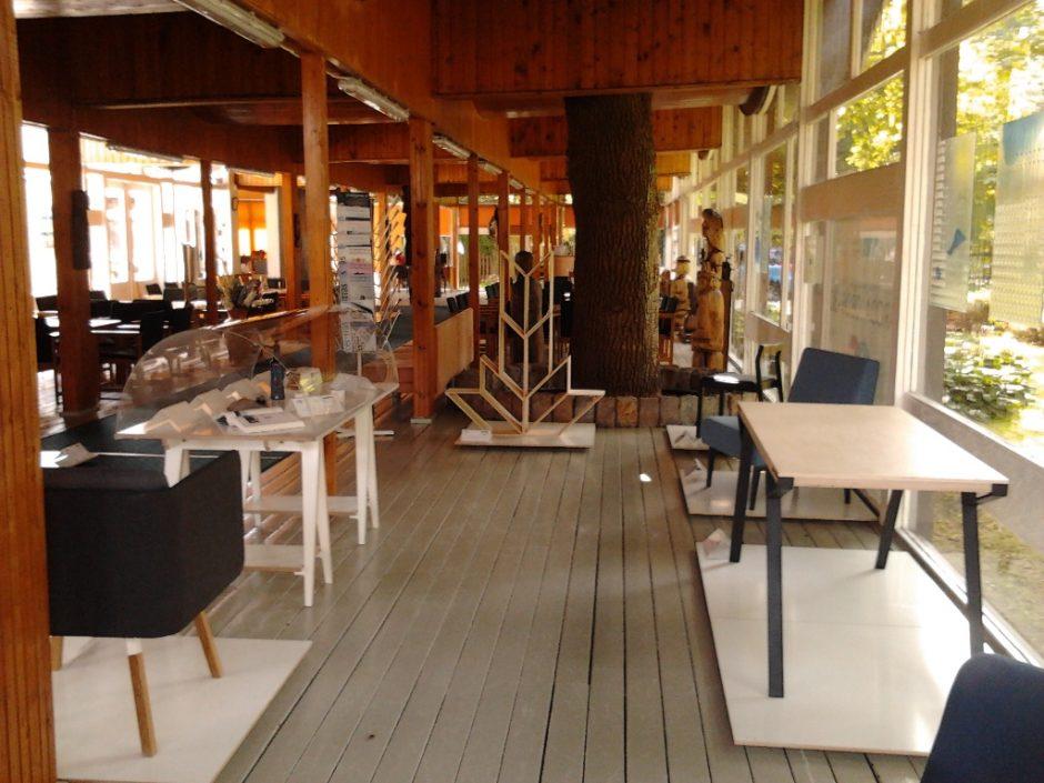 Kita lietuviško dizaino stotelė Palangoje – Lietuvos kultūros sostinėje