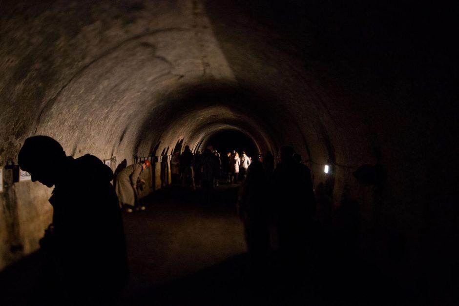 Šilainiai driokstelėjo: forto tuneliuose – kaukianti sirena ir menininkų projektas
