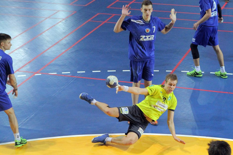 """""""Granitas-Karys"""" ir antrą kartą pralaimėjo Ukrainos komandai"""