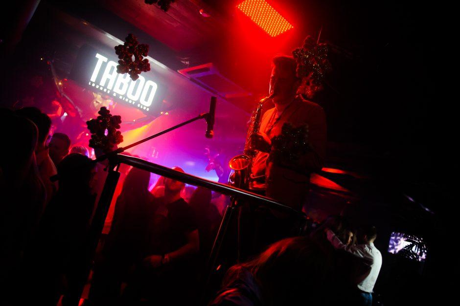 """Naujieji metai klube """"Taboo"""""""