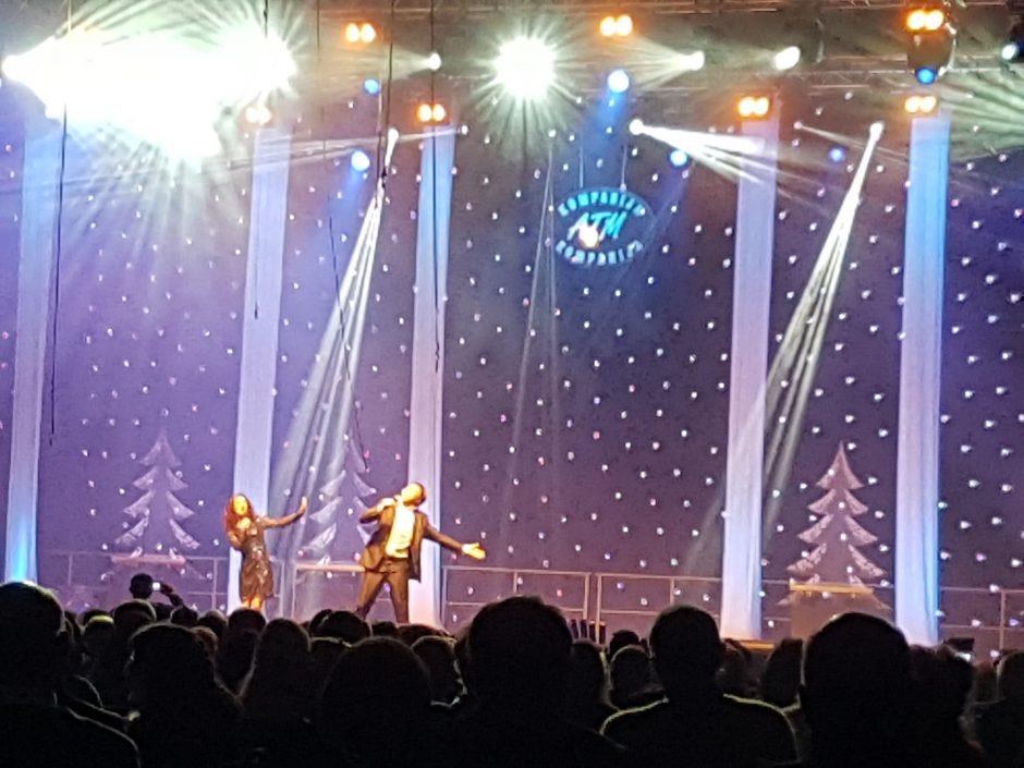 Publiką sužavėjo koncertas Sporto halėje