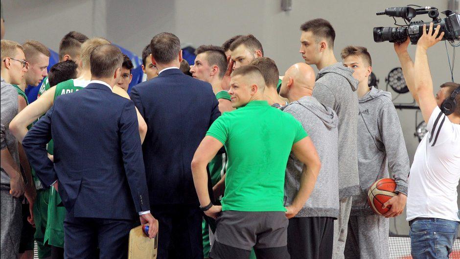 """Klaipėdos """"Neptūno"""" dubleriai – NKL čempionai"""
