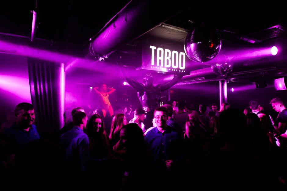 """""""Taboo"""" klube – Ibiza kvepianti naktis"""