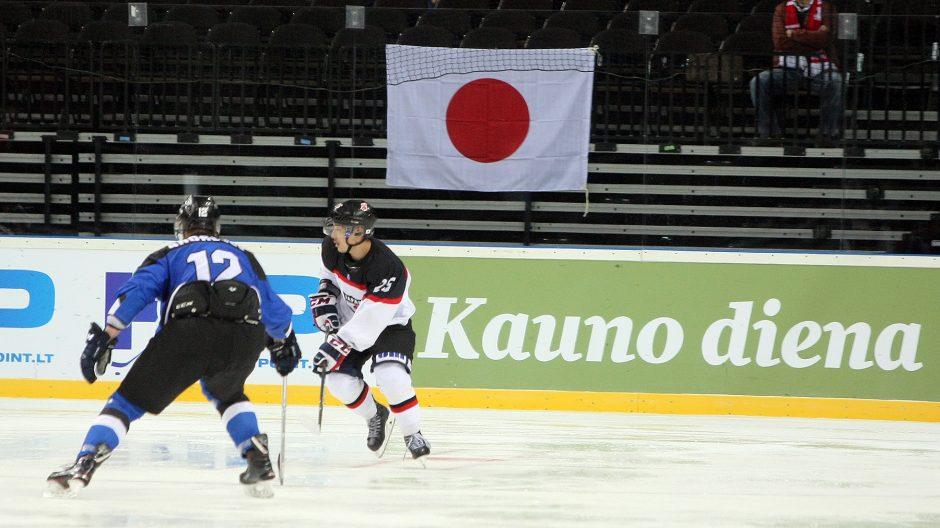 Ledo ritulys: Estija – Japonija 1:2