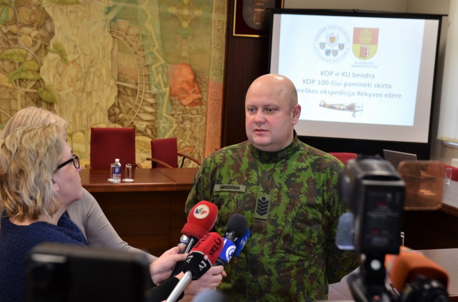 Kariai ir mokslininkai Šiaulių rajone ieškos tarpukaryje sudužusių lėktuvų