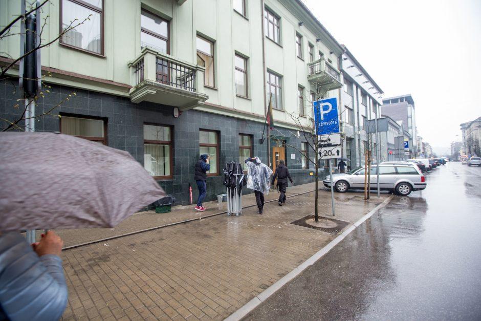 Maironio gatvėje – neeilinis sujudimas