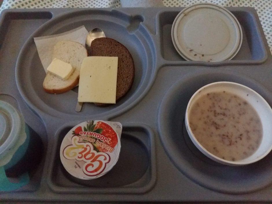 Piliečių užfiksuotas maistas šalies ligoninėse