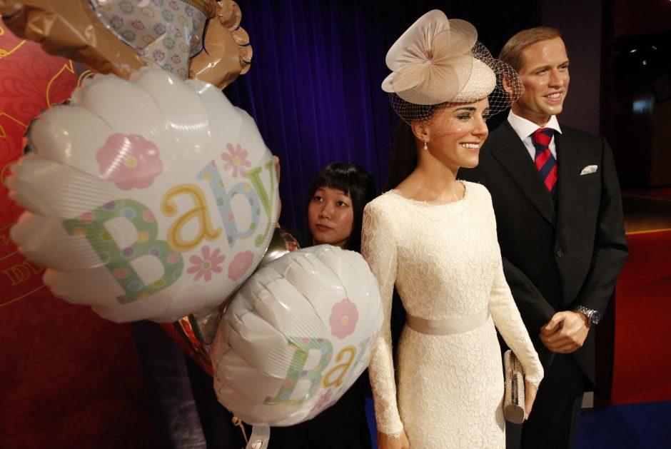 Princas Williamas dėl sūnaus gimimo: